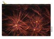 Abstract Of Fireworks On Black Carry-all Pouch