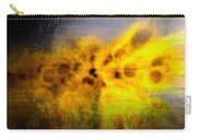 Abstract Of Sunflowers Carry-all Pouch