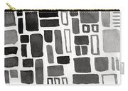 Abstract Open Windows Carry-all Pouch