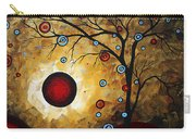 Abstract Original Gold Textured Painting Frosted Gold By Madart Carry-all Pouch
