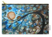 Abstract Original Landscape Art In A Trance Art By Madart Carry-all Pouch