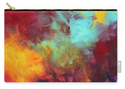 Abstract Original Painting Colorful Vivid Art Colors Of Glory II By Megan Duncanson Carry-all Pouch