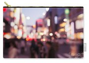 Abstract Out-of-focus City Scenery With Colorful Lights Carry-all Pouch