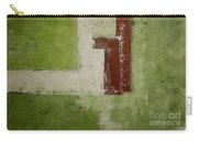 Abstract Painting Green 13013 Carry-all Pouch