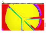 Abstract Peace Carry-all Pouch
