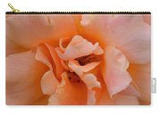 Abstract Peach Rose Carry-all Pouch