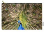 Abstract Peacock Digital Artwork Carry-all Pouch
