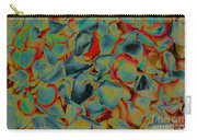 Abstract Rose Petals Carry-all Pouch