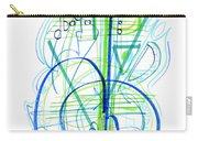 Abstract Pen Drawing Fifty-eight Carry-all Pouch