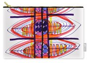 Abstract Pen Drawing Fifty Carry-all Pouch