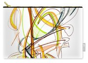 Abstract Pen Drawing Fifty-nine Carry-all Pouch