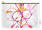 Abstract Pen Drawing Fifty-one Carry-all Pouch