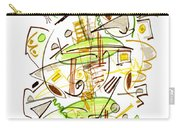 Abstract Pen Drawing Fifty-seven Carry-all Pouch