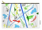Abstract Pen Drawing Fifty-three Carry-all Pouch