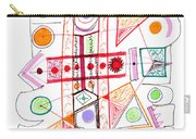 Abstract Pen Drawing Fifty-two Carry-all Pouch