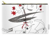 Abstract Pen Drawing Seventy-eight Carry-all Pouch