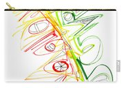 Abstract Pen Drawing Seventy-one Carry-all Pouch