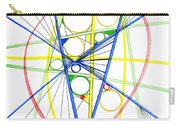 Abstract Pen Drawing Seventy-three Carry-all Pouch