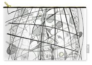 Abstract Pen Drawing Sixty-eight Carry-all Pouch