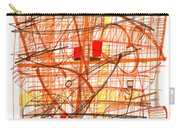 Abstract Pen Drawing Sixty-one Carry-all Pouch