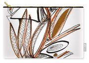 Abstract Pen Drawing Sixty-six Carry-all Pouch