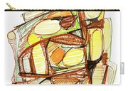 Abstract Pen Drawing Sixty-three Carry-all Pouch