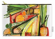 Abstract Pen Drawing Sixty-two Carry-all Pouch