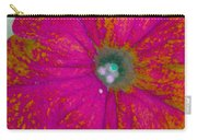 Abstract Petunia Carry-all Pouch