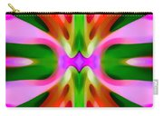 Abstract Pink Tree Symmetry Carry-all Pouch by Amy Vangsgard