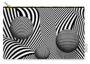 Abstract - Poke Out My Eyes Carry-all Pouch by Mike Savad