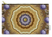 Abstract Pond In Gold Carry-all Pouch