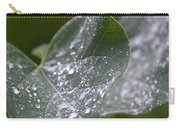 Abstract Rain Glitter Carry-all Pouch