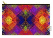 Abstract - Rainbow Connection - Panel - Panorama - Horizontal Carry-all Pouch