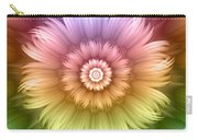 Abstract Rainbow Flower Carry-all Pouch