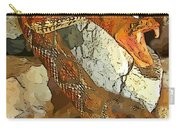 Abstract Rattlesnake Carry-all Pouch