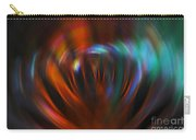 Abstract Red And Green Blur Carry-all Pouch