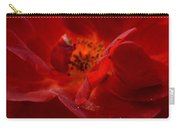 Abstract Red Rose 1a Carry-all Pouch