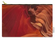 Abstract Red Sandstone Formations Lower Antelope Slot Carry-all Pouch