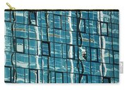 Abstract Reflections In Windows Carry-all Pouch