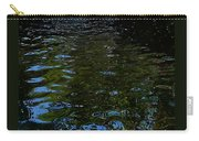 Abstract Ripples Carry-all Pouch