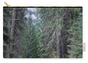 Abstract Road In The Wilderness Carry-all Pouch