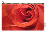 Abstract Orange Rose 9 Carry-all Pouch