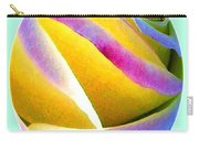 Abstract Rose Oval Carry-all Pouch