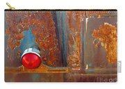 Abstract Rust Carry-all Pouch