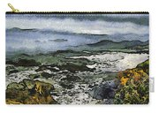 Abstract Seascape Morro Bay California Carry-all Pouch