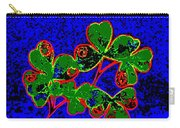 Abstract Shamrocks Carry-all Pouch