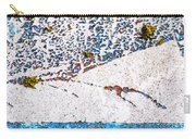 Abstract Snow Storm Carry-all Pouch
