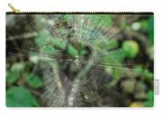 Abstract Spider Web Carry-all Pouch