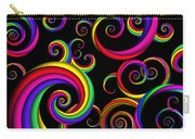 Abstract - Spirals - Inside A Clown Carry-all Pouch by Mike Savad