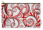 Abstract - Spirals - Peppermint Dreams Carry-all Pouch